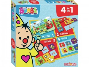 Studio 100 4-in-1 spelbox Bumba