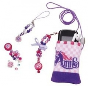 Studio 100 Amika protective case and jewelery for phone / mp3
