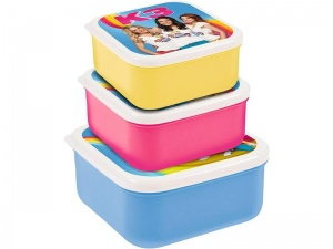 Studio 100 storage boxes K3 11 x 11 x 6 cm 3-piece