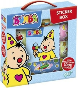 Studio 100 Bumba stickerbox 1000-delig