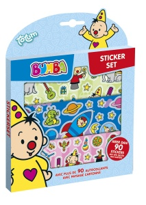 Studio 100 Bumba stickerset 90-delig