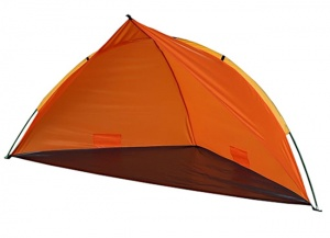 Summertime Beachshelter strandzelt 260 x 110 x 110 x 110 cm orange