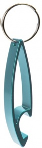 Summit sleutelhanger Mountain Whistle aluminium 6 cm aqua