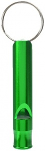 Summit sleutelhanger Mountain Whistle aluminium 6 cm groen
