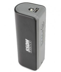 SSDN powerbank 2200 mAh zwart 77 mm