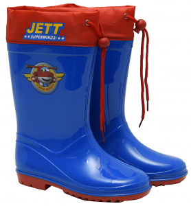 Super Wings regenstiefel Junior PVC blau/rot
