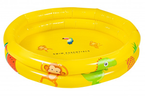 Swim Essentials babybecken 15 Liter 63 cm Vinyl gelb