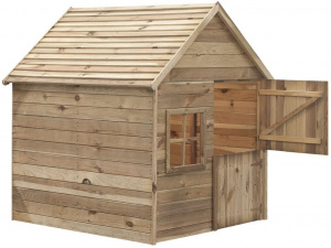 Swing King playhouse Louise Deluxe150x124x160cm FSC pinewood