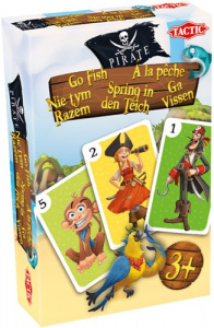 Tactic card game Pirate go fishing junior