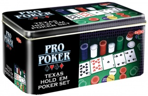 Tactic Pro Poker Texas Hold'em set