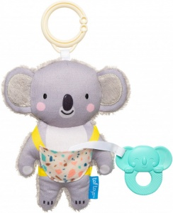 Taf Toys rattle Kimmy the Koalajunior 17 cm grey