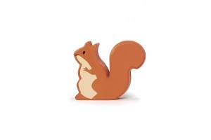 Tender Leaf Toys toy forest animal squirrel red 6x2x5 cm