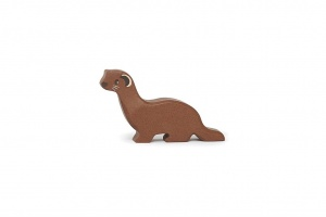 Tender Leaf Toys toy forest animal weasel brown 8x2x5 cm