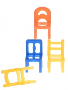 Tender Toys drinking game chairs stacking 22-piece