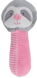 Tender Toys pinch toys sloth 16 cm pink