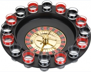 Tender Toys Roulette drinking game