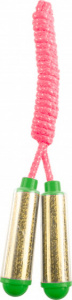 Tender Toys skipping rope junior 210 cm pink/gold