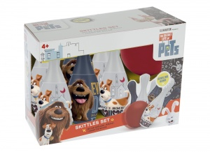 The Secret Life of Pets bowlingset junior 7-delig