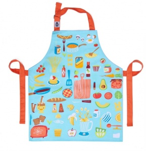ThreadBear katoenen schort 50 x 42 cm multicolor keuken