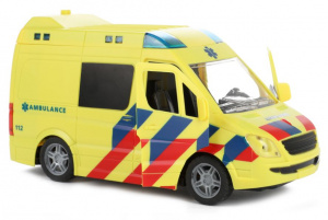 Toi-Toys ambulance junior 21 cm geel