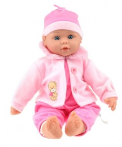 Toi-Toys Baby doll with jacket 40 cm