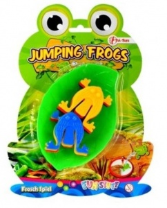 Toi-Toys jumping frogs kikkerspel 7-delig