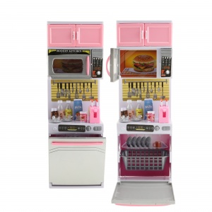 Toi-Toys kitchen with microwave for doll with light and sound