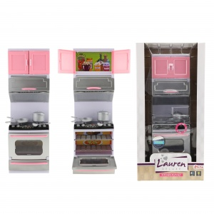 Toi-Toys kitchen with oven for doll with light and sound