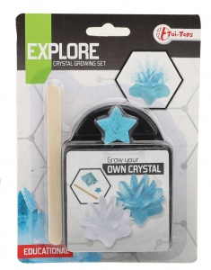 Toi-Toys crystal grow kit blue 17,5 cm