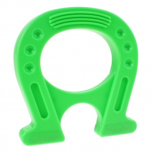Toi-Toys Mega magnet super strong horseshoe green 12 cm
