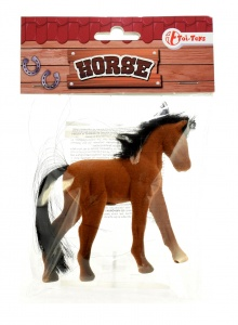 Toi-Toys cheval miniature 9 cm marron