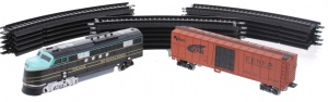 Toi-Toys Modelleisenbahn - Train Express Container