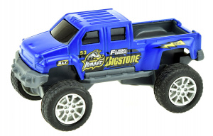 Toi-Toys monstertruck Cross Country jongens 9 cm staal blauw