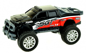 Toi-Toys monstertruck Cross Country jongens 9 cm staal zwart