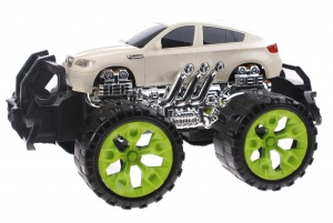 Toi-Toys Monster Truck Off-Road 28 cm blanc