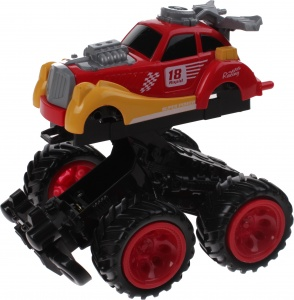 Toi-Toys Monstertruck Racing rood