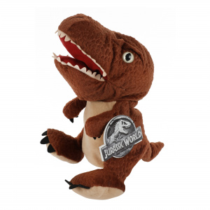 Toi-Toys hand puppet T-Rex Jurassic World junior plush brown