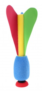 Toi-Toys rocket with suction cup 28 cm