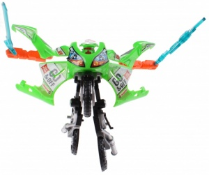Toi-Toys Roboforces transformation motor groen 11 cm