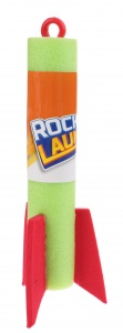 Toi-Toys Rocket Launch rocket 15 cm green
