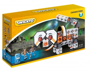 Toi-Toys Twickto 3 in 1 Kit Figuren 109-teilig