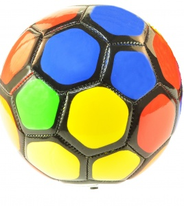 Toi-Toys voetbal multicolor 15 cm