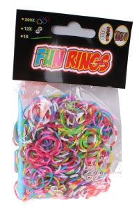 TOM Fun Rings braid braiding striped 313-piece