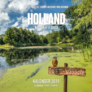 Plenty Gifts kalender 2019 Holland natuur in de Delta 30 cm
