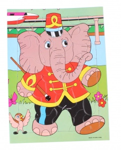 TOM jigsaw puzzle elephant 35 pieces