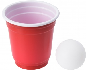 TOM mini beerpong drinking game 14-piece