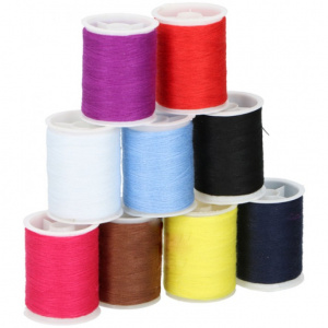 TOM sewing thread nylon 60 meters 9-piece
