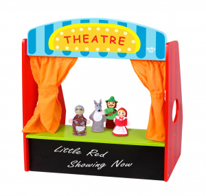 Tooky Toy little Red Riding Hood junior 47 x 20 cm wood 5-piece