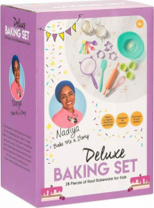 Toyrific nadiya's Deluxe silicone baking and cooking set 28 pieces