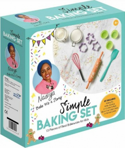 Toyrific baking and cooking set Nadiya's Simple silicone 15-piece